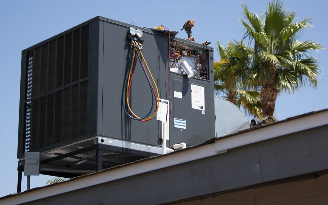 package ac on roof
